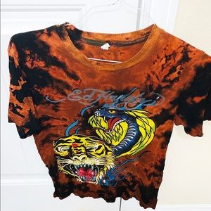 Vintage Ed Hardy distressed T-Shirt